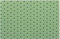 Dollhouse Miniature Tile: Hexagons, 12X16, Light Green/Dark Green