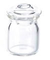 Dollhouse Miniature Canister Jar, Large