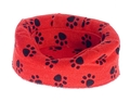 DOGS BED, SMALL, RED