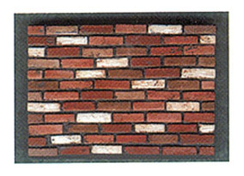 Dollhouse Miniature Used Brick Corners 125 Count