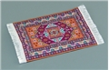 Dollhouse Miniature Reutter's Porcelain Fine Dollhouse Miniature Woven Side Rug