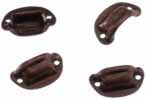 Dollhouse Miniature Victorian Drawer Pulls, Oil Rubbed Bronze, 4/Pk