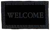Dollhouse Miniature Welcome Mat, Black