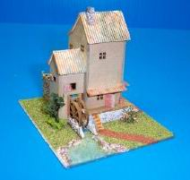 Dollhouse Miniature Country Mill