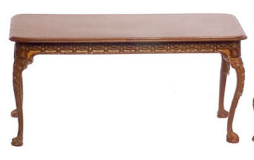 Dollhouse  Francesco Dining Table, Walnut