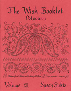 Dollhouse Miniature Wish Booklet #12 Potpourri