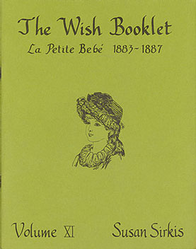 Dollhouse Miniature Wish Booklet #11 La Petite Bebe 1883-188