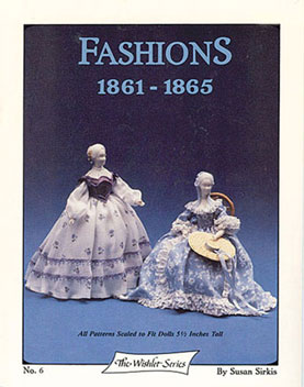 Dollhouse Miniature Wishlet Fashions #6 1861-1865