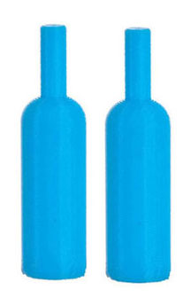 Dollhouse Miniature MAGNUM BOTTLES/SET/2/BLUE
