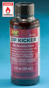 Dollhouse Miniature Zip Kicker with Pump Sprayer, 2 oz., 12/pk