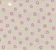 Dollhouse Miniature Pre-pasted Wallpaper Tiny Mauve Flowers On Beige