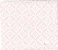 Dollhouse Miniature Pre-pasted Wallpaper, Pink and White Diamond/Circle