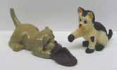 Dollhouse Miniature Dog and Cat
