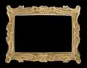 Dollhouse Miniature Large Picture Frame