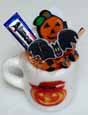 Dollhouse Miniature Filled Halloween Mug