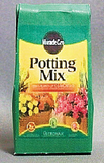 Dollhouse Miniature Miracle Gro Potting Mix
