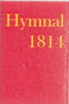 Dollhouse Miniature HYMNAL 1814