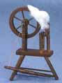 Spinning Wheel, Walnut
