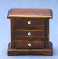 Night Stand, Walnut