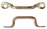 Brass Window Handle Pulls, 6  Pk