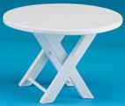 Outdoor Table, White