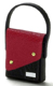 Dollhouse Miniature Lady's Handbag, Red and Black