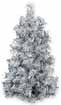 Dollhouse Miniature Silver Ultimate Tree, 7 Inch