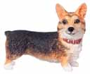 Dollhouse Miniature Standing Welsh Corgi