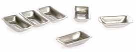 Dollhouse Miniature Loaf Pans, 6