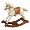 Dollhouse Miniature Toy Rocking Horse