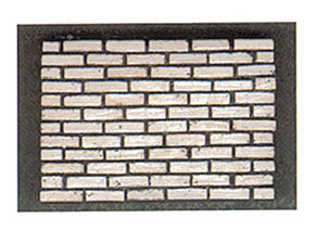 Dollhouse Miniature White Brick, 325Pcs
