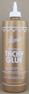 Dollhouse Miniature Tacky Glue, 16 Oz Dabber