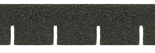 Dollhouse Miniature Black Square Asphalt Shingles