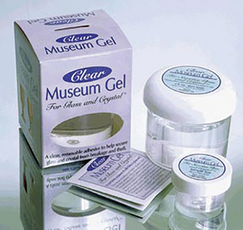 Dollhouse Miniature Clear Museum Gel/4Oz