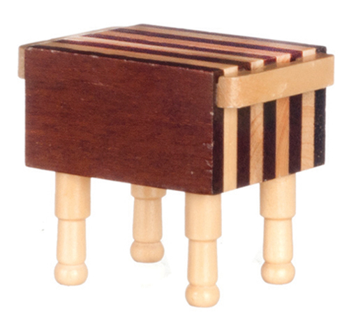 Dollhouse Miniature Butcher Block (No Tools included)