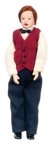 Dollhouse Miniature Country Father