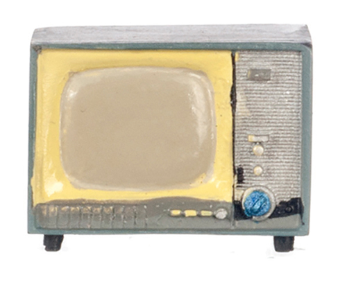 Dollhouse Miniature Small TV