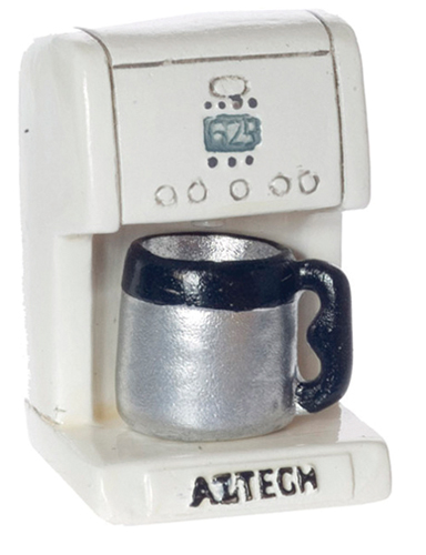 Dollhouse Miniature Coffee Maker, 2Pc Set