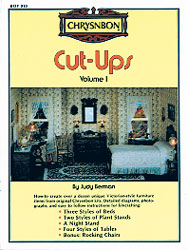 Dollhouse Miniature Chrysnbon Cut-Ups Volume One