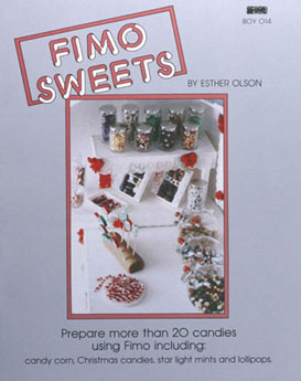 Dollhouse Miniature Fimo Sweets Book