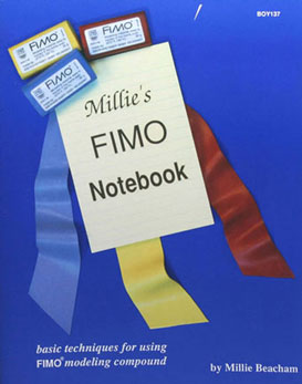 Dollhouse Miniature Millie's Fimo Notebook