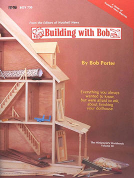 Dollhouse Miniature Building with Bob Book