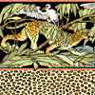 Dollhouse Miniature Wallpaper: Leopard