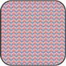 Dollhouse Miniature Cotton Fabric: 1/2 In Bargello Blueberry