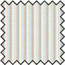Dollhouse Miniature Silk Fabric: Albert Stripe - Blue