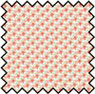 Dollhouse Miniature Silk Fabric: Blossom Peach