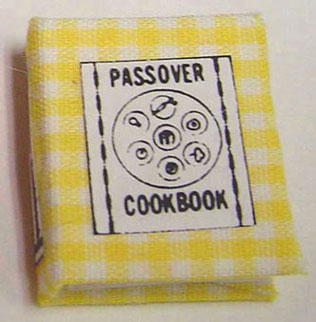 Dollhouse Miniature Passover Cookbook
