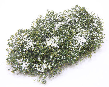 Dollhouse Miniature Creeping Phlox, White