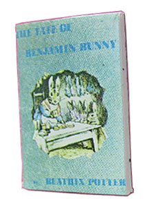 Dollhouse Miniature Benjamin Bunny Readable Book