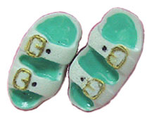 Dollhouse Miniature Sandals/Assorted Colors